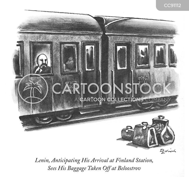 russian revolution cartoon