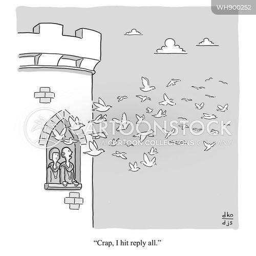 hits cartoon