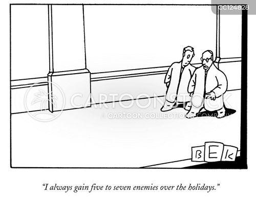 family gathering cartoon