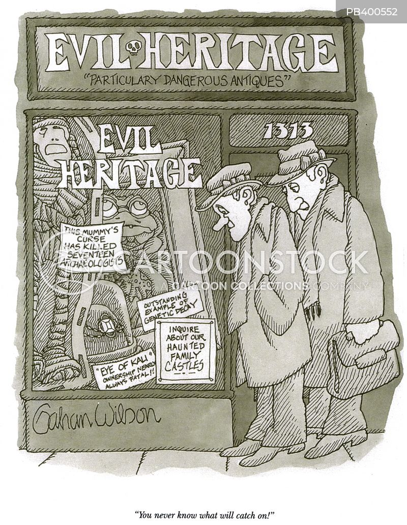 evils cartoon
