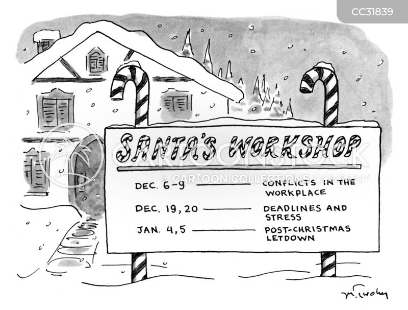 holiday season cartoon