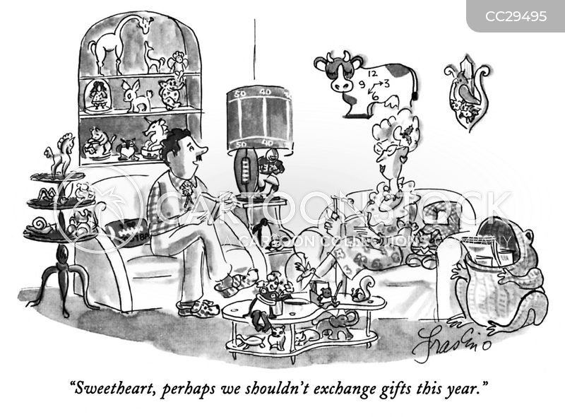 presents cartoon