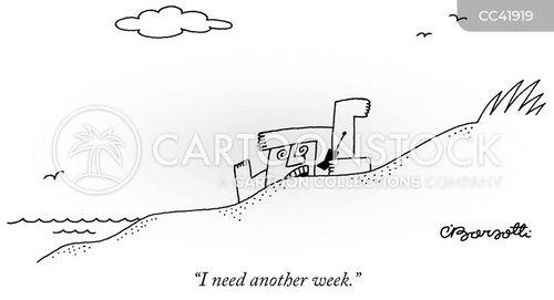 stressing cartoon