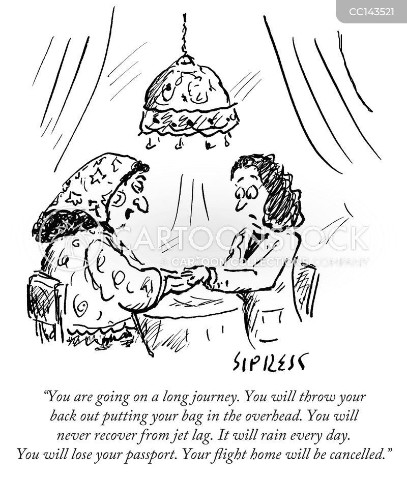 soothsayer cartoon