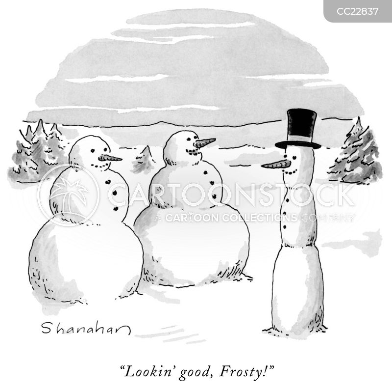christmas season cartoon