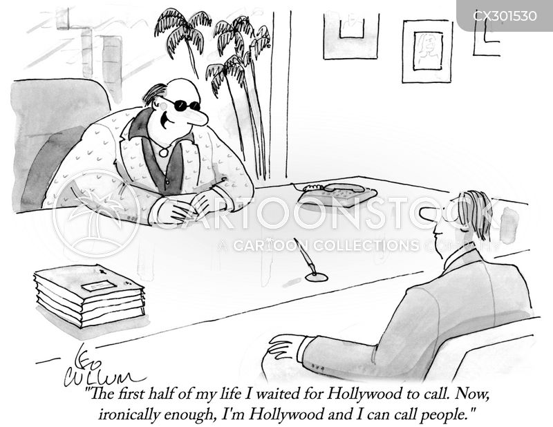 screenwriter cartoon