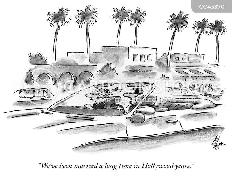hollywood marriage cartoon