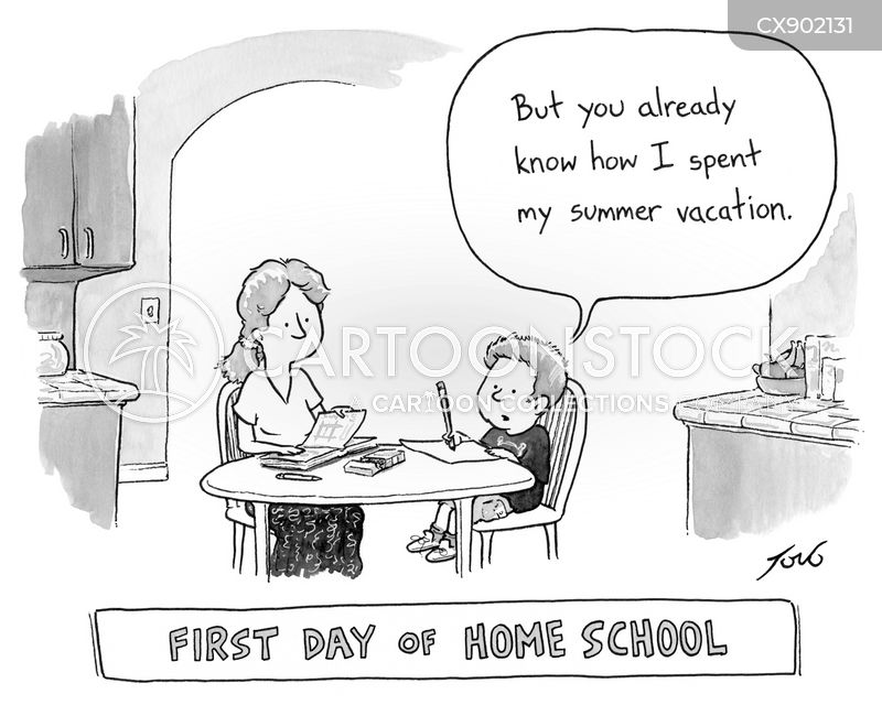 home school cartoon