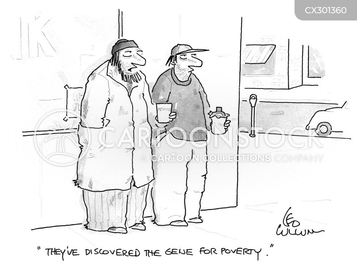 panhandled cartoon