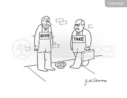 homeless men cartoon