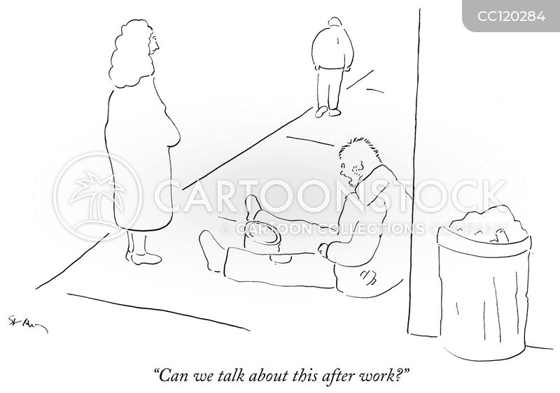 conversations cartoon