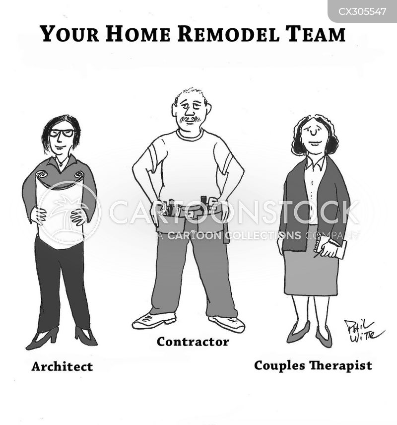 remodelling cartoon