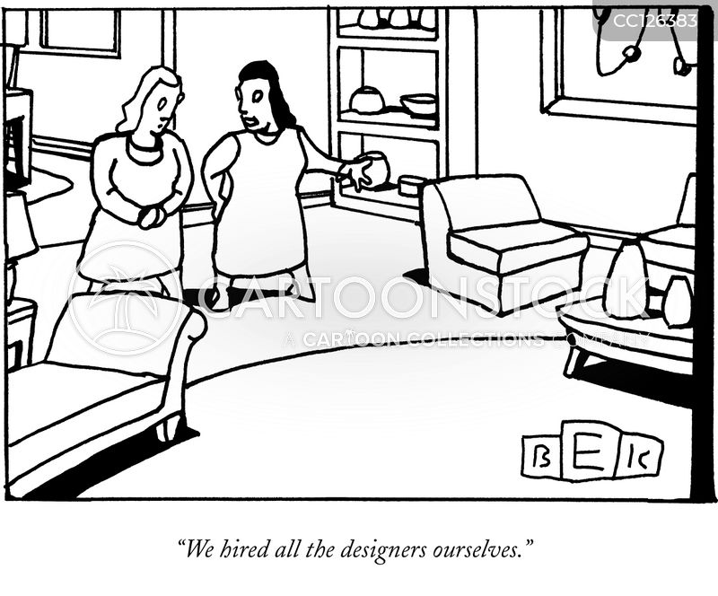 living rooms cartoon
