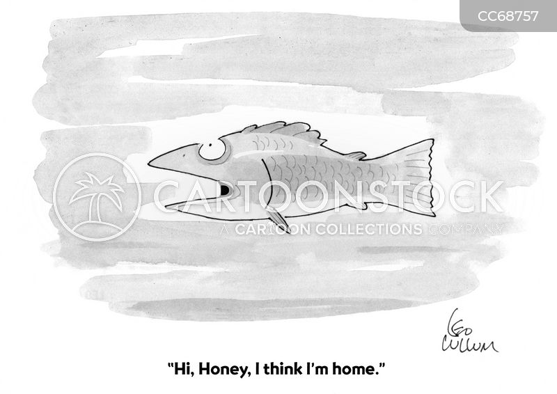 returning home cartoon