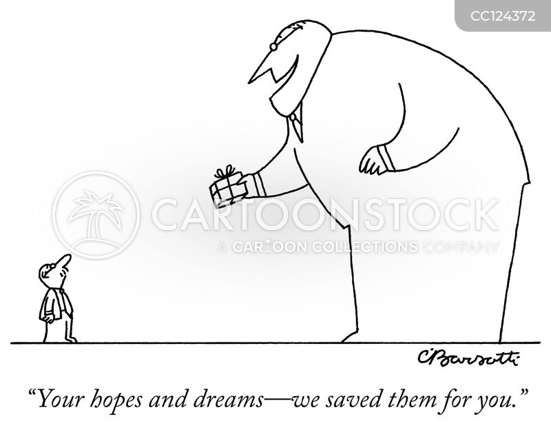 aspirations cartoon