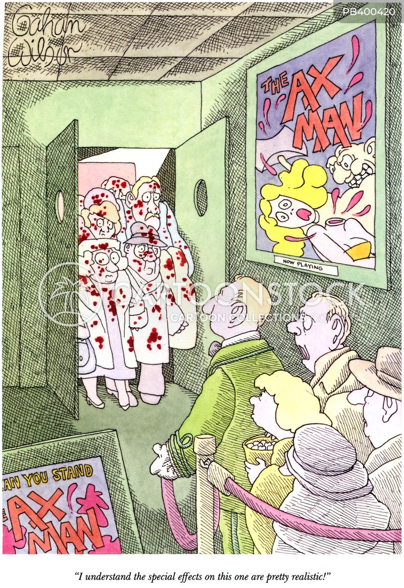 gore cartoon
