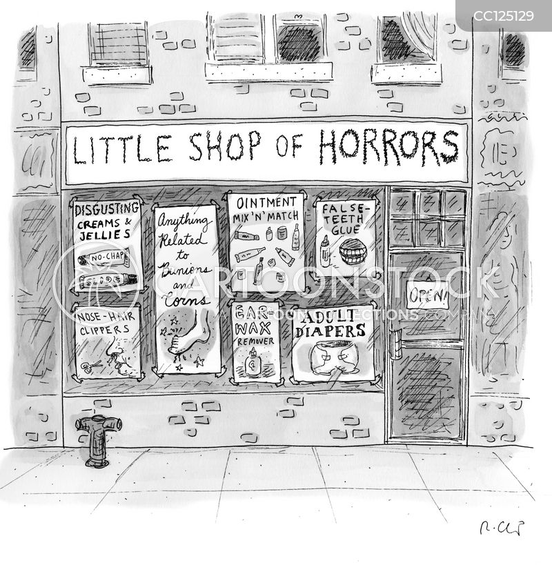 horror cartoon