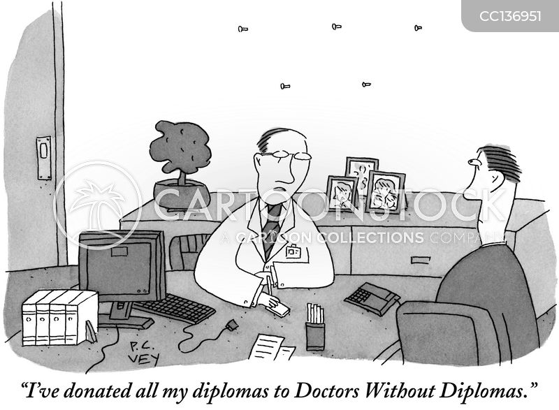 diploma cartoon