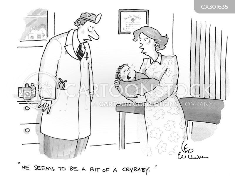 pediatrician cartoon