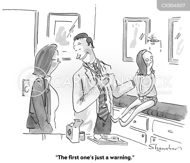 vaccination cartoon