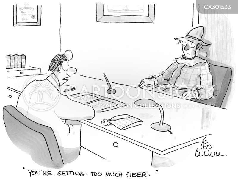 dietary fiber cartoon