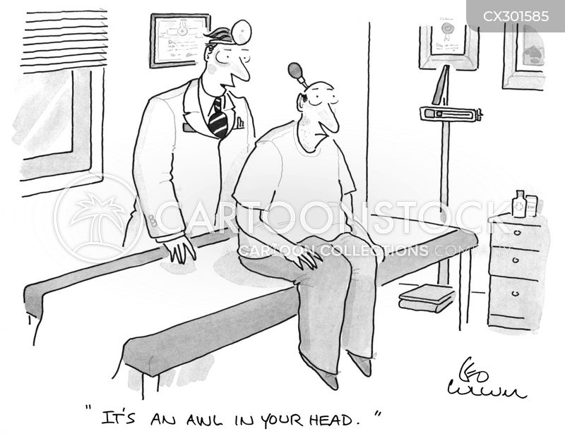 All In Your Head cartoon