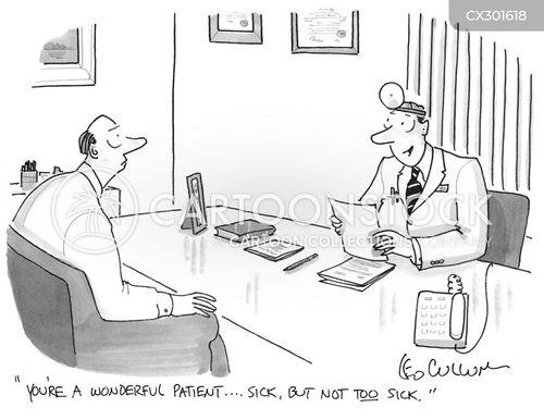 ideal patients cartoon