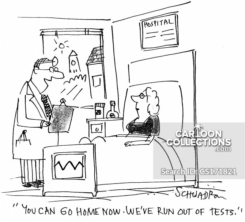 No Tests Left cartoon