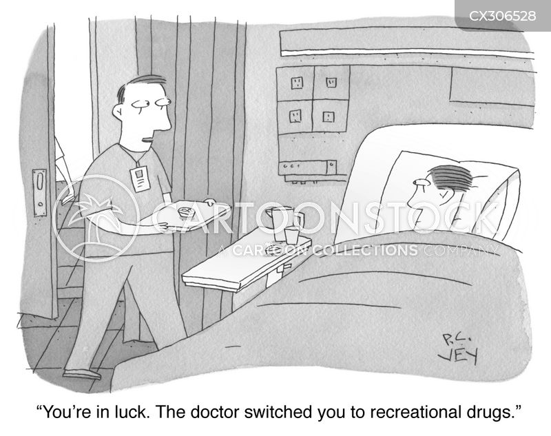 recreational drugs cartoon