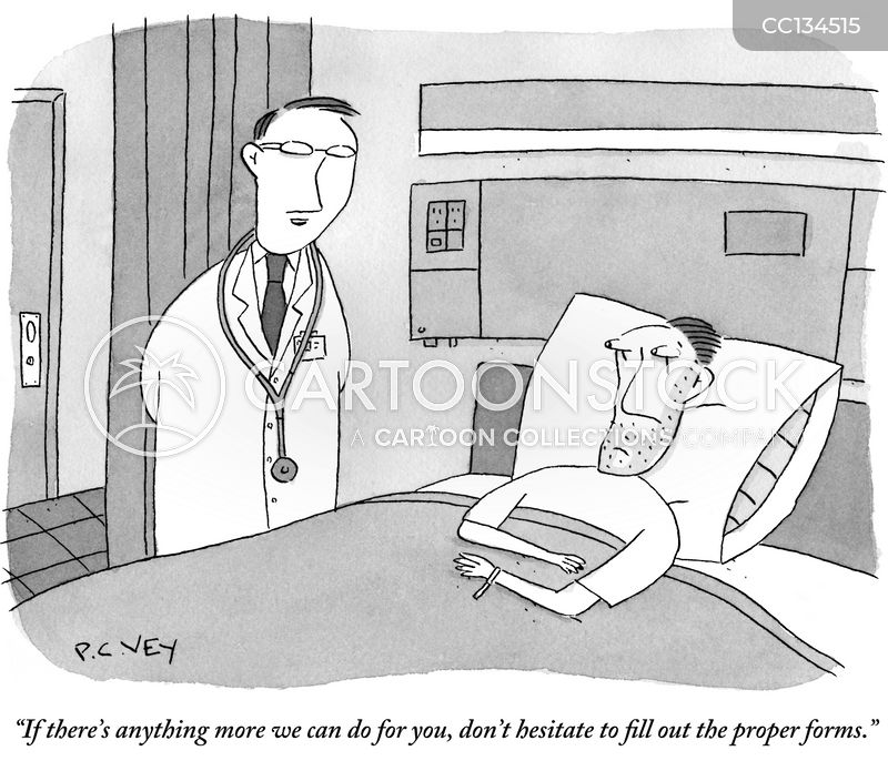 official procedure cartoon