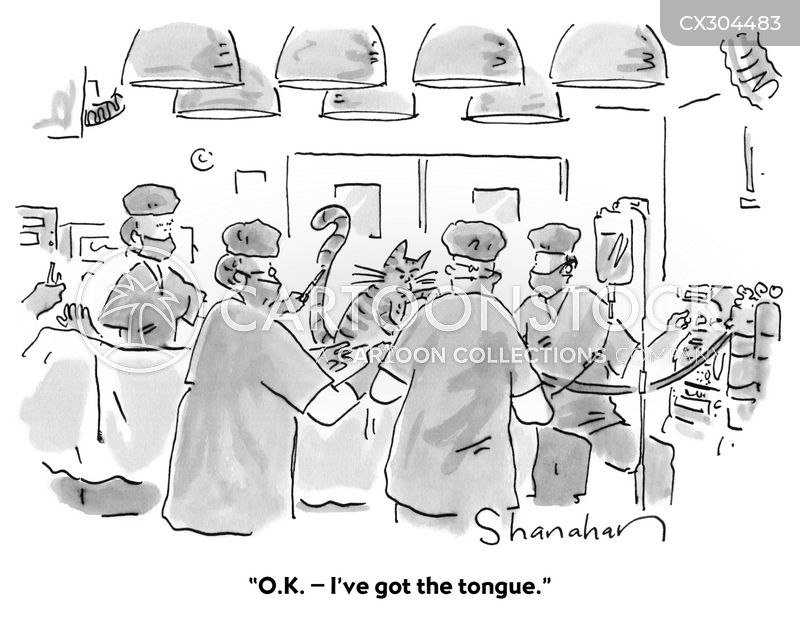 tongue cartoon