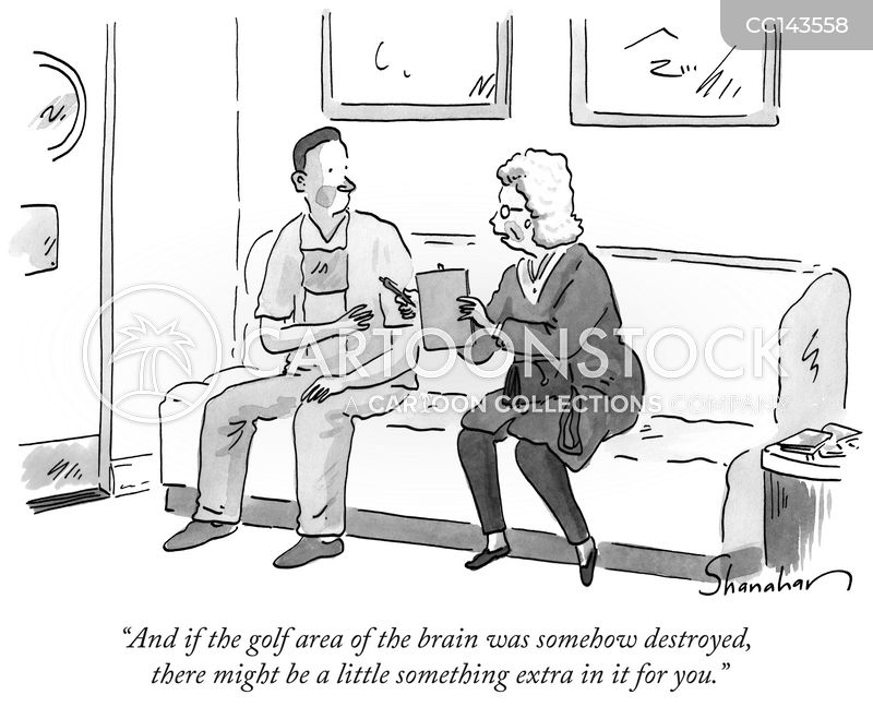 brain surgeon cartoon