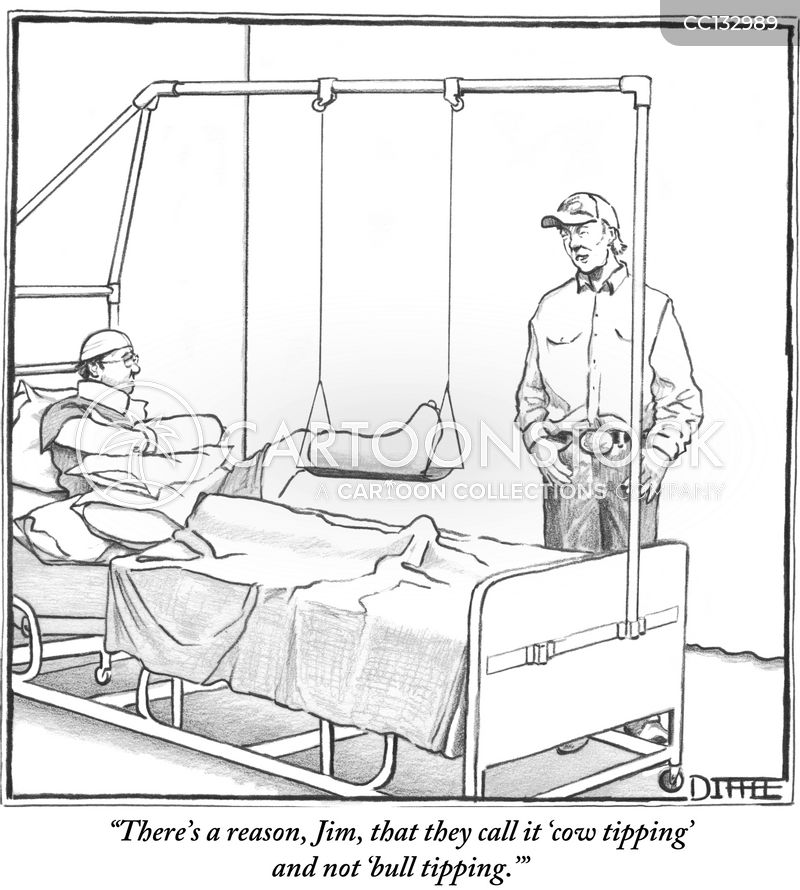 injury cartoon