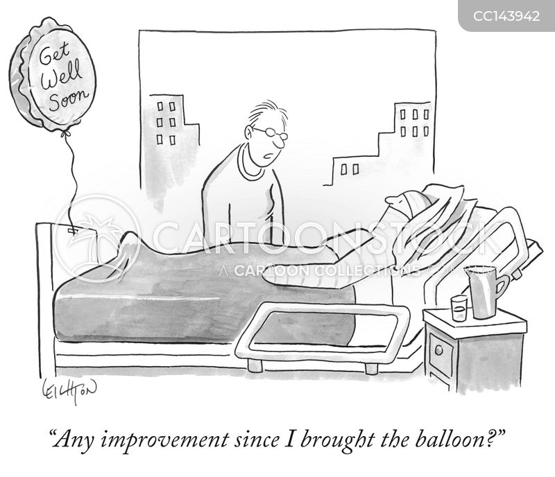 injured cartoon
