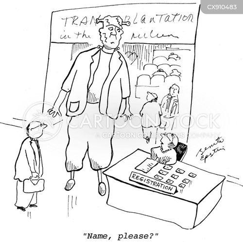 brain transplant cartoon