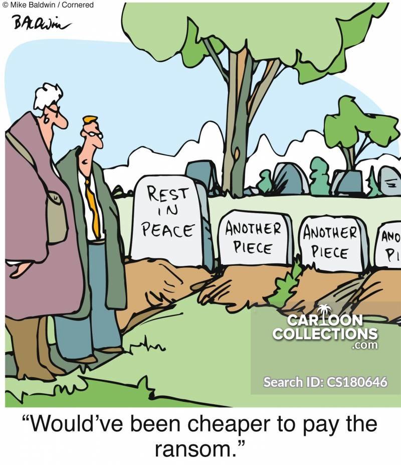 grave plots cartoon