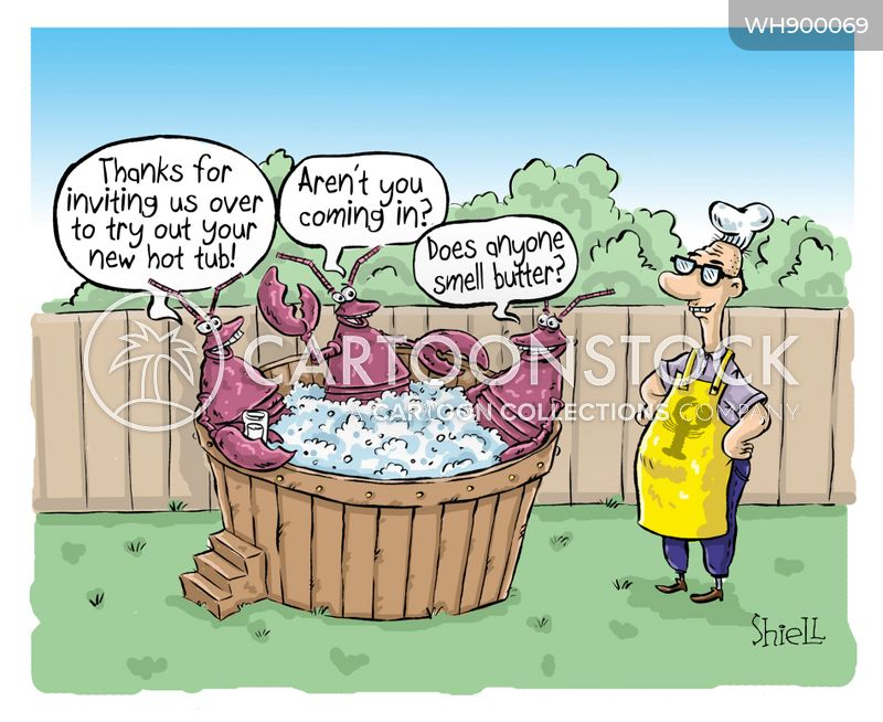jacuzzis cartoon