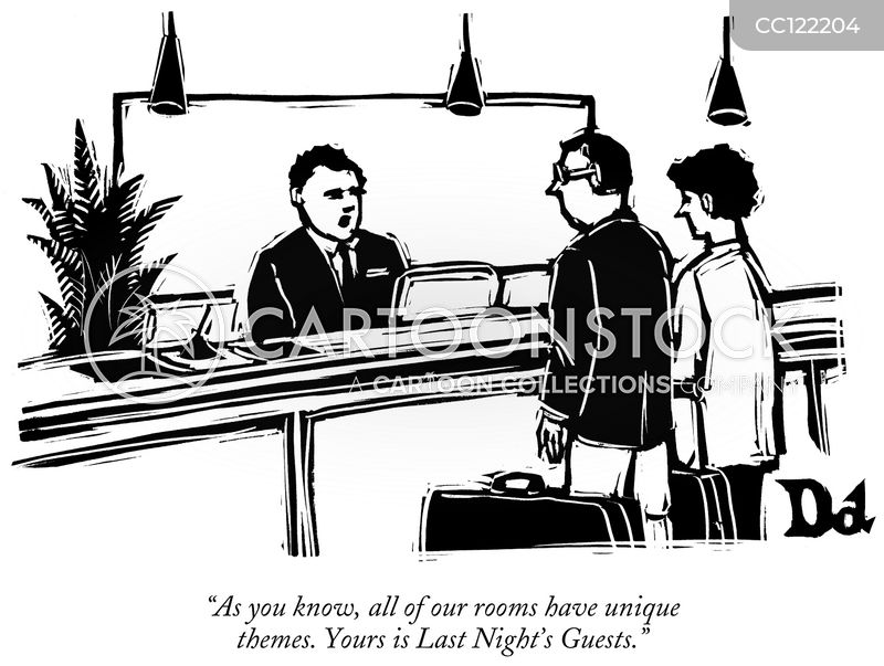attendants cartoon