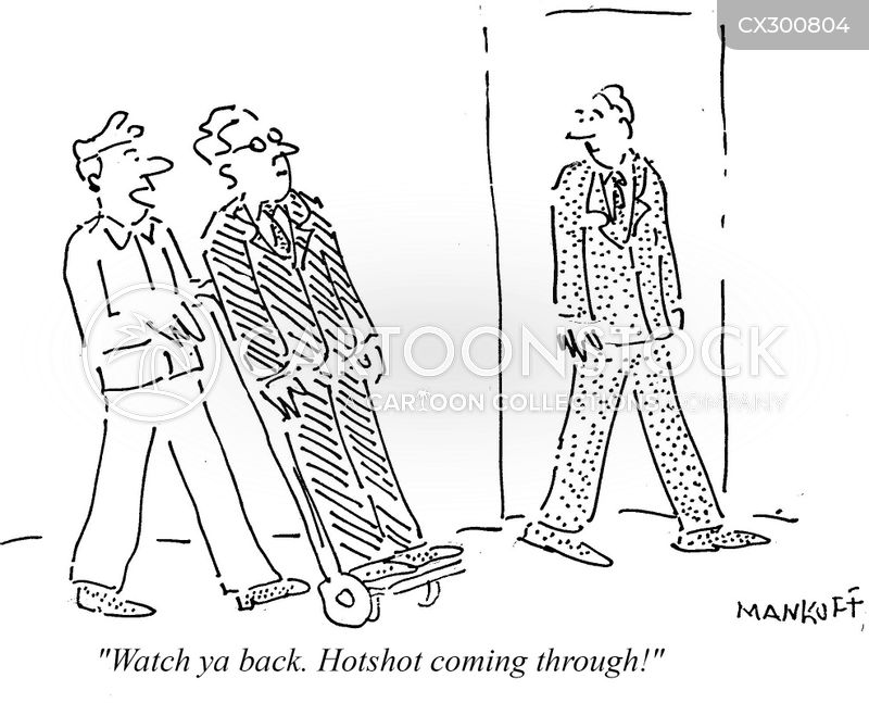 hotshots cartoon