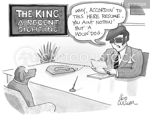 hound dog cartoon