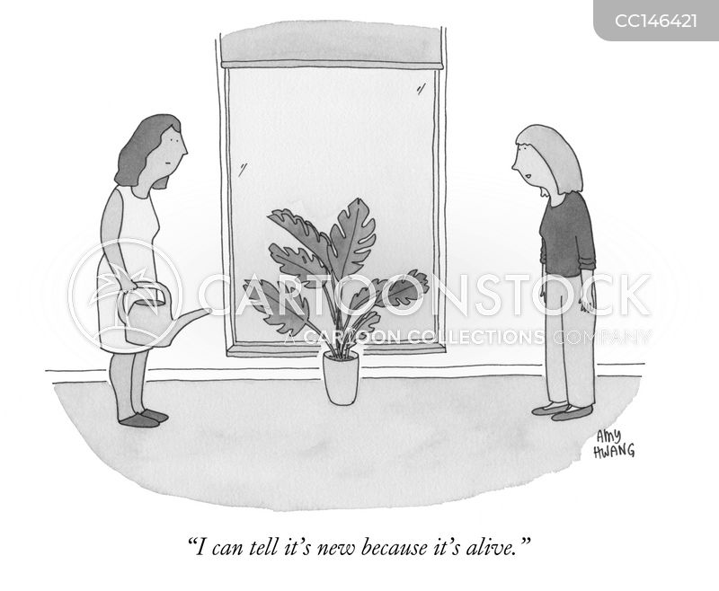 brown thumb cartoon