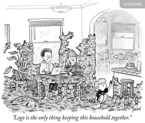 fall apart cartoon