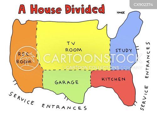 modern america cartoon