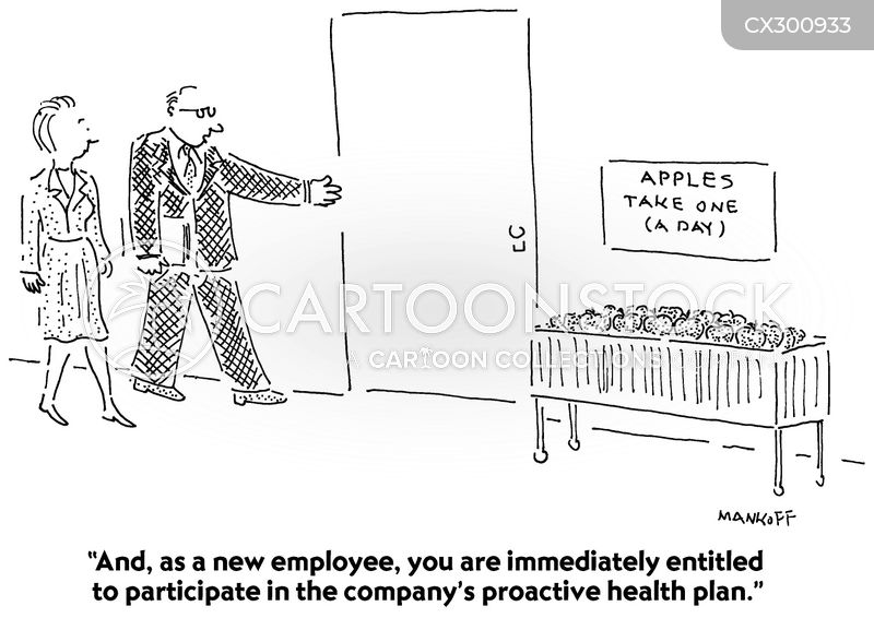 new employee cartoon