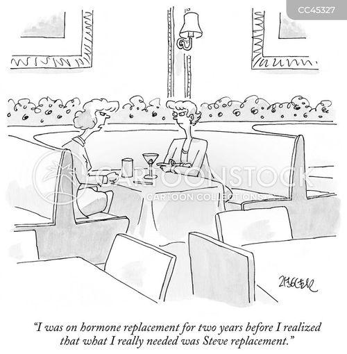 split-up cartoon