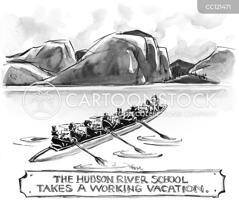 hudson river school cartoon