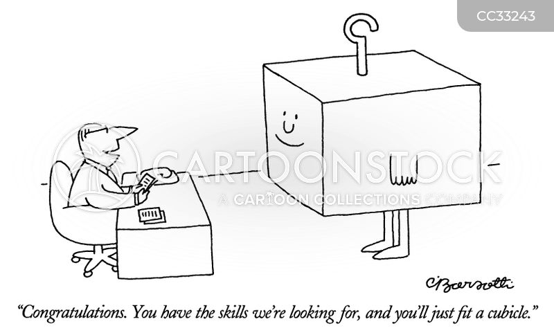 job applicants cartoon