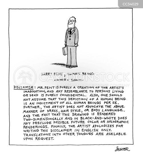 disclaimer cartoon