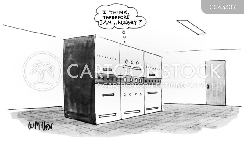 computing cartoon