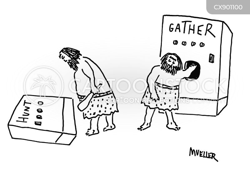gathers cartoon